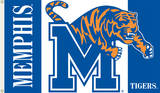 NCAA Memphis Tigers Flag with Grommets Novelty