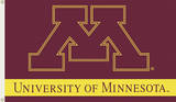 NCAA Minnesota Golden Gophers Flag with Grommets Novelty