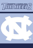 NCAA North Carolina Tar Heels 2-Sided House Banner Flag