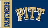 NCAA Pittsburgh Panthers Flag with Grommets Flag