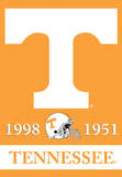 NCAA Tennessee Volunteers 2-Sided Championship Years Banner with Pole Sleeve Flag