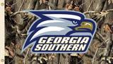 NCAA Georgia Southern Eagles Camo Flag with Grommets Flag