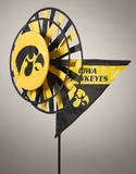 NCAA Iowa Hawkeyes Yard Spinner Novelty