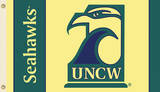 NCAA Unc Wilmington Flag with Grommets Flag