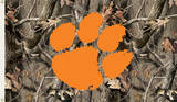 NCAA Clemson Tigers Camo Flag with Grommets Novelty
