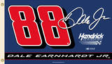 Nascar Dale Earnhardt Jr. 88 Flag with Grommets Novelty