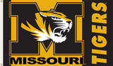 NCAA Missouri Tigers Flag with Grommets Flag
