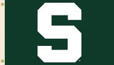 NCAA Michigan State Spartans Flag with Grommets Flag