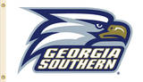 NCAA Georgia Southern Eagles Flag with Grommets Bandera