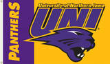NCAA Northern Iowa Flag with Grommets Flag