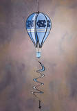 NCAA North Carolina Tar Heels Hot Air Balloon Spinner Novelty