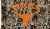 NCAA Texas Longhorns Camo Flag with Grommets Flag