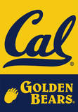 NCAA Cal Berkeley Golden Bears 2-Sided House Banner Flag