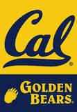 NCAA Cal Berkeley Golden Bears 2-Sided House Banner Flag