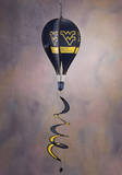 NCAA West Virginia Mountaineers Hot Air Balloon Spinner Novelty