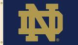 NCAA Notre Dame Flag with Grommets Novelty