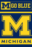 NCAA Michigan Wolverines 2-Sided House Banner Flag