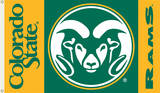 NCAA Colorado State Rams Flag with Grommets Novelty
