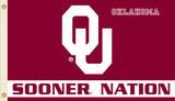 NCAA Oklahoma Sooners Flag with Grommets Flag