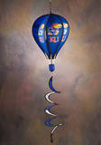 NCAA Kansas Jayhawks Hot Air Balloon Spinner Novelty