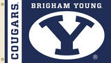 NCAA Brigham Young Cougars Flag with Grommets Flag
