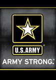 U.S. Army 2-Sided House Banner Flag