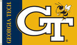 NCAA Georgia Tech Yellow Jackets Flag with Grommets Flag