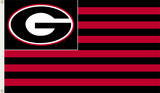 NCAA Georgia Bulldogs Flag with Grommets Flag