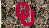 NCAA Oklahoma Sooners Camo Flag with Grommets Flag