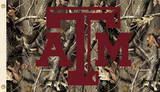 NCAA Texas A&M Aggies Camo Flag with Grommets Flag