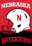 NCAA Nebraska Cornhuskers 2-Sided House Banner Flag