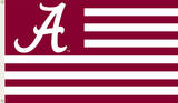 NCAA Alabama Crimson Tide Flag with Grommets Novelty