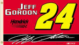 Nascar Jeff Gordon 24 Flag with Grommets Novelty