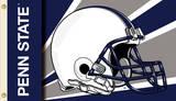NCAA Penn State Nittany Lions Helmet Flag with Grommets Flag