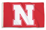 NCAA Nebraska Cornhuskers Flag with Grommets Flag