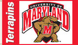 NCAA Maryland Terrapins Flag with Grommets Flag