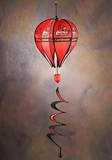 NCAA Louisville Cardinals Hot Air Balloon Spinner Novelty