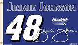 Nascar Jimmie Johnson 48 Flag with Grommets Novelty
