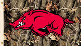 NCAA Arkansas Razorbacks Camo Flag with Grommets Flag