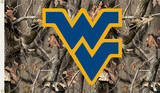 NCAA West Virginia Mountaineers Camo Flag with Grommets Flag