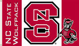 NCAA N. Carolina State Wolfpack Flag with Grommets Flag