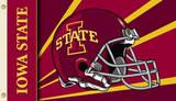 NCAA Iowa State Cyclones Helmet Flag with Grommets Flag