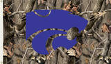 NCAA Kansas State Wildcats Camo Flag with Grommets Novelty