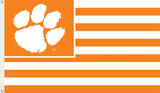 NCAA Clemson Tigers Flag with Grommets Novelty