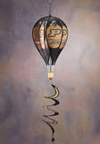 NCAA Purdue Boilermakers Hot Air Balloon Spinner Novelty