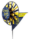 NCAA West Virginia Mountaineers Yard Spinner Novelty