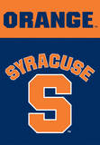 NCAA Syracuse Orange 2-Sided House Banner Flag