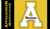 NCAA Appalachian State Flag with Grommets Bandera