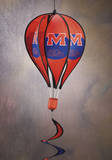 NCAA Mississippi Rebels Hot Air Balloon Spinner Novelty