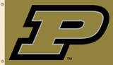 NCAA Purdue Boilermakers Flag with Grommets Flag